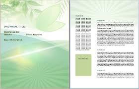 professional business bid proposal template formal word templates