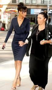 who wore it better kim kardashian vs rihanna in givenchy u0027s navy