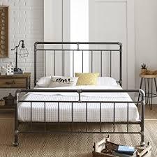 Metal Platform Bed Frame Premier Vintage Pipeworks Metal Platform Bed