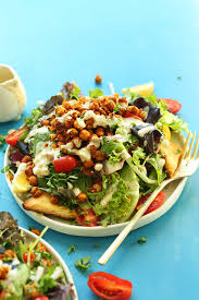 Garden Salad Ideas Chickpea Shawarma Salad Minimalist Baker Recipes