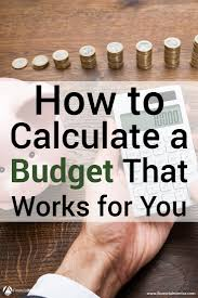 How To Set Up A Monthly Budget Spreadsheet Budget Calculator Easy Household Budget Planner Tool
