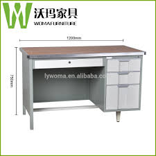 high tech executive office computer table design used metal frame