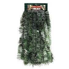hanging tinsel garland 3 inches thick x 50