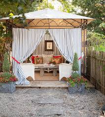 How To Make An Outdoor Bathroom Best 25 Gazebo Curtains Ideas On Pinterest Patio Curtains