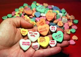 valentines day candy hearts the backstory those s day candy hearts
