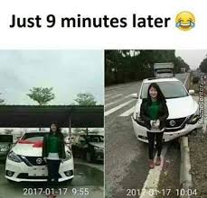 Asian Lady Aging Meme - worst woman drivers in the world female driver memes fail drive