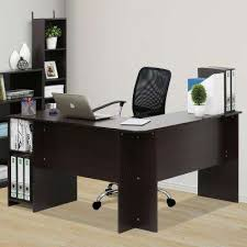 Office Furniture L Desk L Shaped Desks Home Office Furniture The Home Depot