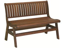 leisure beechworth outdoor bench becker
