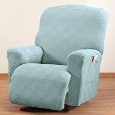 turquoise chair slipcover sherpa recliner protector by oakridge chair cover walter