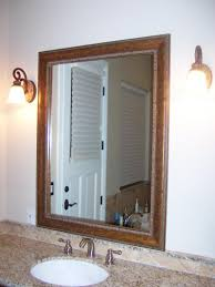 Wooden Bathroom Mirror Bathroom Classic Wooden Frame For Bathroom Mirror Frame Ideas