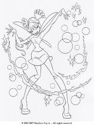 musa coloring pages musa playing bubbles coloring