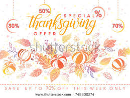 thanksgiving typographyhand lettering stylized