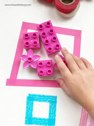 Washi Tape What Is It Lego Duplo Color Sorting Activity With Washi Tape