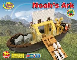 trinity toyz noahs ark building block set 540 pieces toy