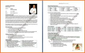 Example Of Chef Resume by 100 Resume Bio Sample 28 Cornell Sample Resume Yale Resume
