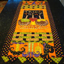 table runner new 566 halloween quilted table runner patterns