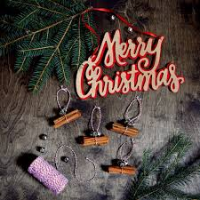 ornament gift cinnamon stick ornament gift topper northstory