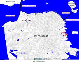 san francisco map detailed california san francisco county boat rs map