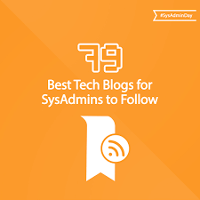 the 79 best tech blogs for sysadmins to follow