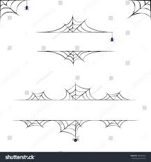 vector halloween borders collection elements design เวกเตอร สต อก