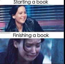 Book Memes - starting a book finishing a book memes and comics