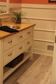 luxury vinyl plank wood flooring bathroom degraaf interiors