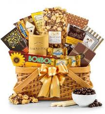 anniversary gift baskets golden anniversary gift basket party golden