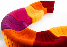 canapes modulables tissus canapé modulable design original en tissu 7 places et plus