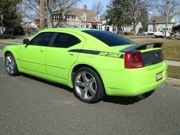 dodge charger daytona 2007 2007 dodge charger rt 5 7l daytona edition sublime green