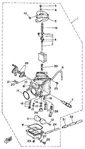 yamaha moto 4 350 wiring diagram yamaha wolverine 350 wiring