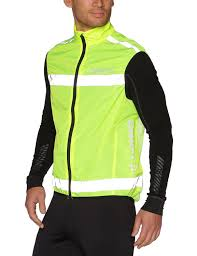 fluorescent cycling jacket craft men u0027s active run safety vest amazon co uk sports u0026 outdoors