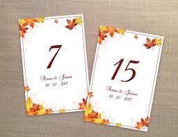 diy printable wedding table number template 2357710 weddbook
