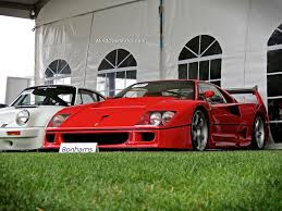 f40 auction f40 lm at bonhams auction in monterey cars
