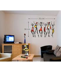 Design Wall Decals Online Stickerskart Wall Decals African Dancing Women Hall Design Wall