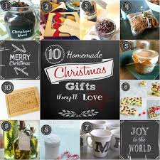 Home Made Christmas Gifts by 10 Homemade Christmas Gifts They U0027ll Love Back To The Book Nutrition