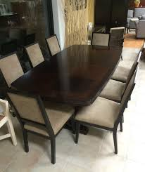 Dining Room Table With 8 Chairs by Thomasville Spellbound Dining Table U0026 8 Chairs U2014 Furnish This