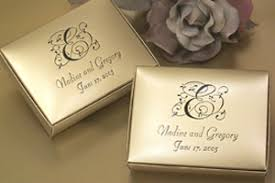 personalized boxes wedding favors bridal shower favors favor idea