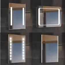 Ebay Bathroom Mirrors Luxury Backlit Slimline Illuminated Bathroom Mirrors With Light