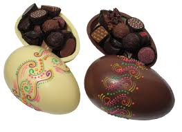 large easter eggs easter chocolate egg with decorated multicolor design