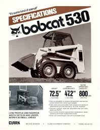 skid steer bobcat skid steer loader specifications 11 bobcat