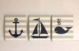 Nautical Themed Baby Rooms - wall ideas nautical wall art canada anchor wall art nautical