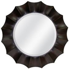 Oil Rubbed Bronze Bathroom Mirror by Allen Roth 28 75 In X 30 In Oil Rubbed Bronze Round Framed Wall