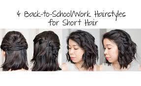 quick hairstyles for long hair at home hair tutorial 27 short hairstyles in 10 minutes or less