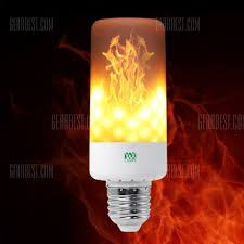 why led light bulbs flicker ywxlight led light bulb leaping flickering flame 5 99 free
