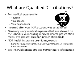part i section 213 medical dental etc expenses rev be smart with your money with health savings accounts a smart option