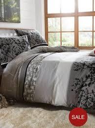 Duvet Covers Debenhams Home Collection Grey Snowy Mountain Print Duvet Set At Debenhams