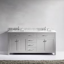 Bathroom Vanities Maryland Virtu Usa Md 2072 Wmsq Cg Nm Caroline 72 In Bathroom Vanity