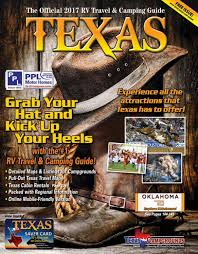 2017 rv travel u0026 camping guide to texas by ags texas advertising