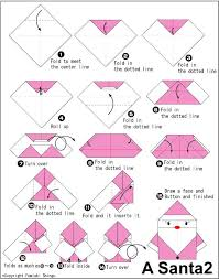 58 best origami santa images on origami