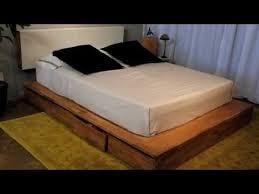 Bed Platform With Storage Lax Series Storage Platform Bed Laxseries Com Youtube